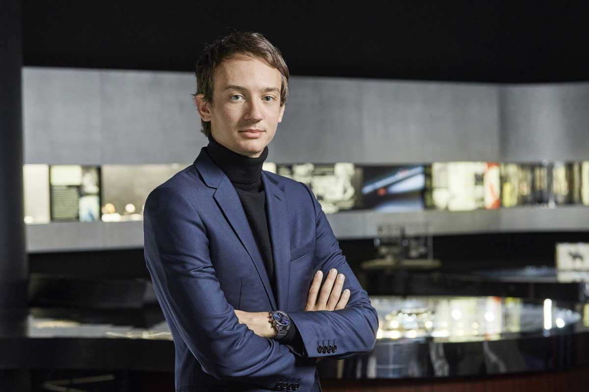 Frédéric Arnault, CEO of TAG Heuer