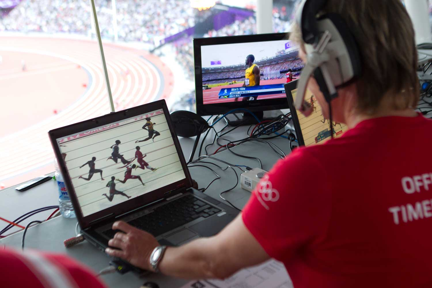 Omega will arrive at the Tokyo Olympics with 400 tons of equipment including public scoreboards, sport-specific scoreboards, 200km of cables and optical fiber.