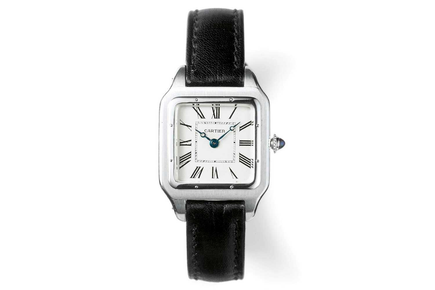The Cartier Santos was the world's first pilot's watch and also the first square watch meant to be worn on the wrist