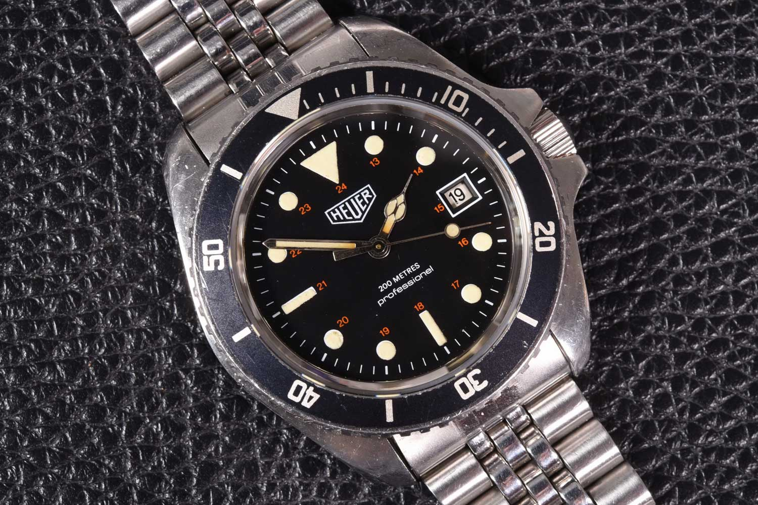 The Reference 844 dive watch from 1978. (Image : Onthedash)