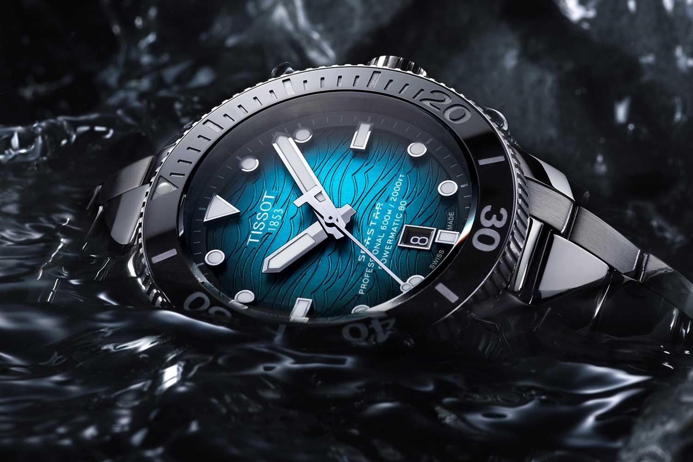 The Seastar 2000 Pro is water resistant to 600 meters.