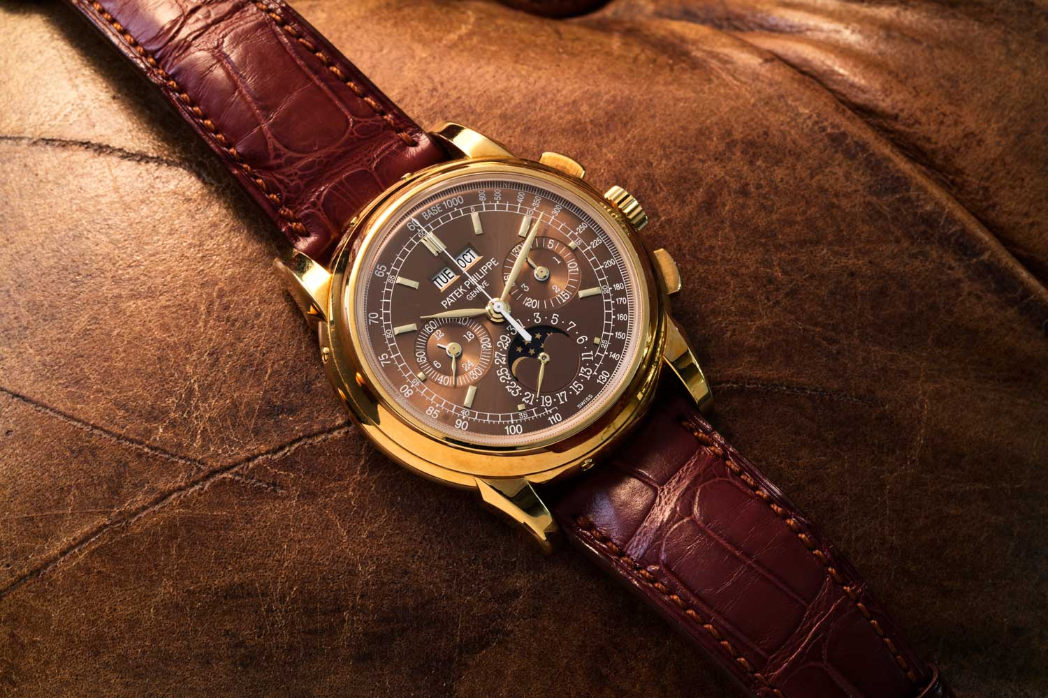 The ref. 5970 reminds Thierry Stern of a fond memory about his grandfather. (©Revolution)
