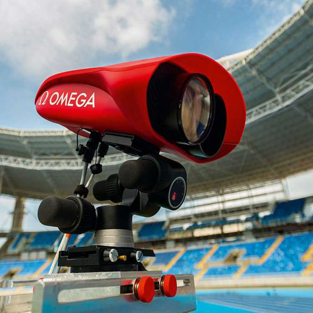 Introduced in 2016, the Scan'O'Vision Myria was the most advanced photo finish camera in Omega's history