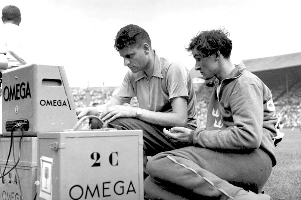 The 1948 Summer Olympics of London were a turning point in Olympic timekeeping.