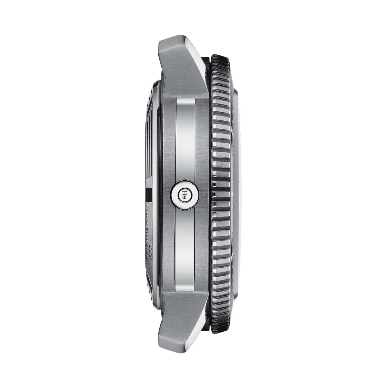 The watch also has a helium valve to release the build up of gas and protect the integrity of the watch.
