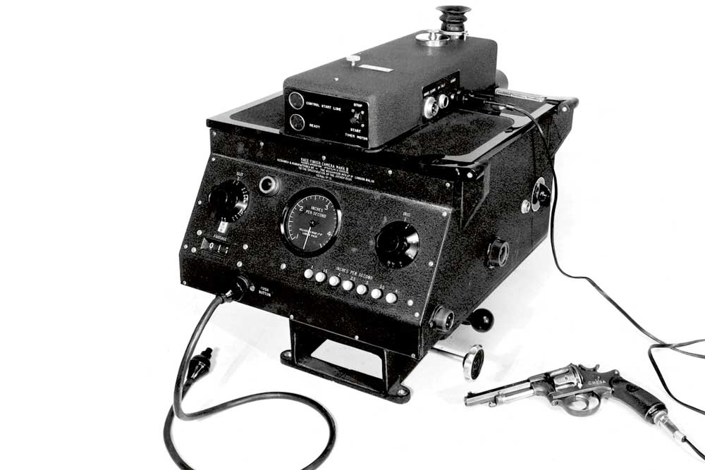 Omega photo finish camera made its appearance at the London Olympics in 1948.