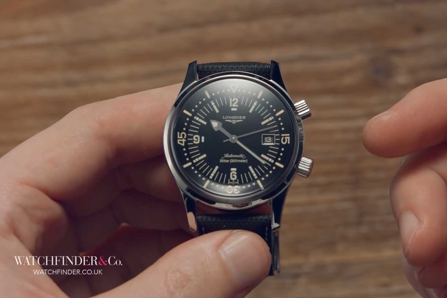 A 42mm Longines Legend Diver today costs just a quarter the price of a Rolex Submariner.