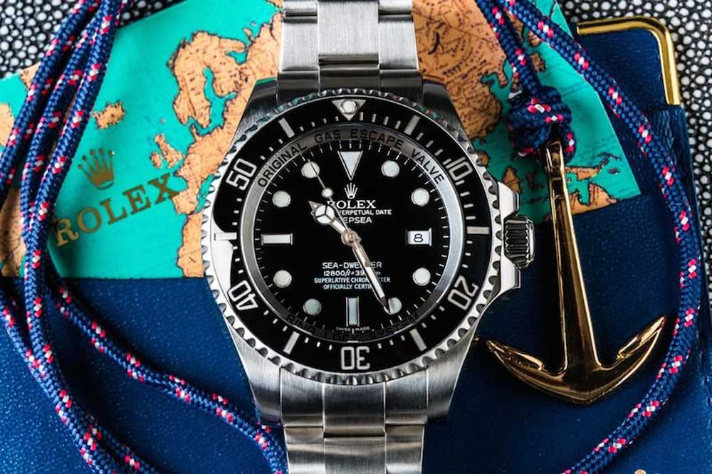 Introduced in 2008, the Deepsea took the Sea-Dweller to another level with an impressive water resistance up to 3,990 meters (Image: Bob's watches)