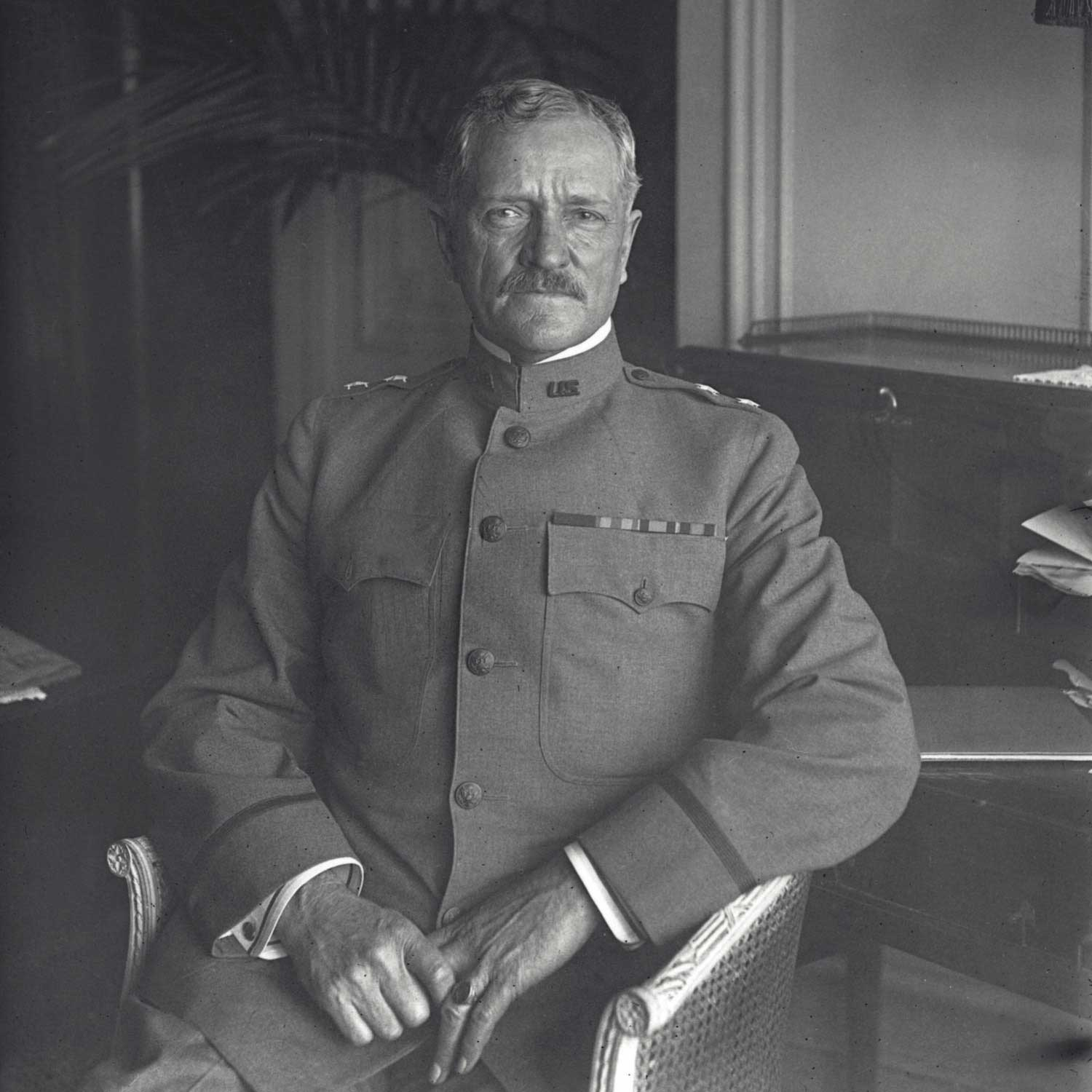General John Pershing, one of the very first owners of the Cartier Tank