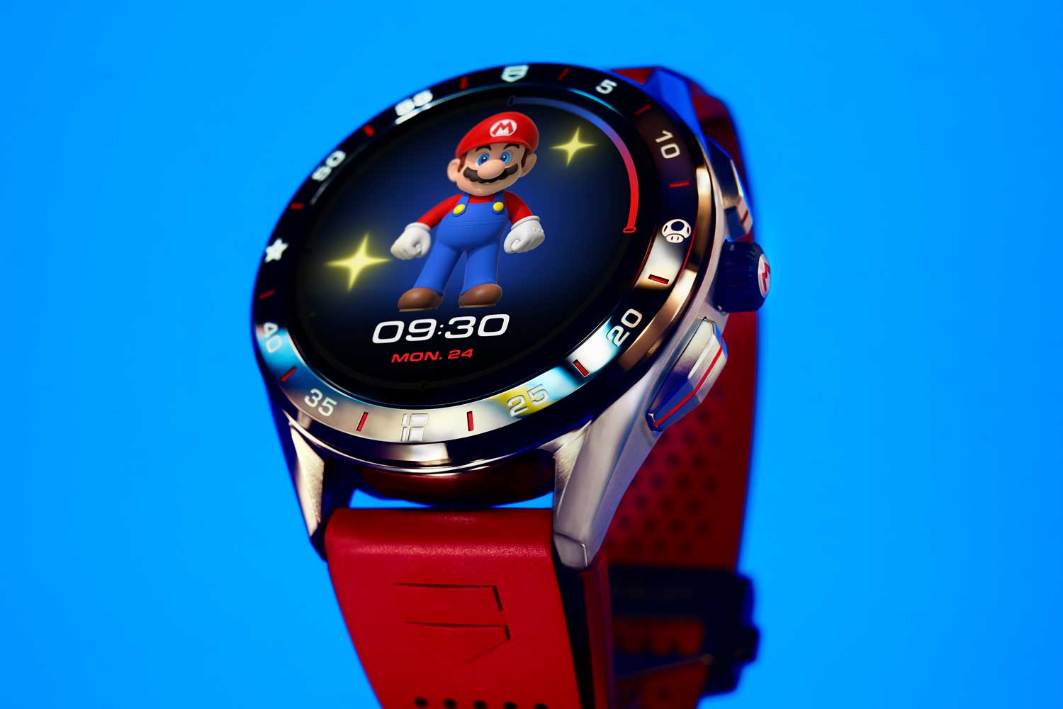 The TAG Heuer Connected x Super Mario Limited Edition Reference SBG8A13.BT6247