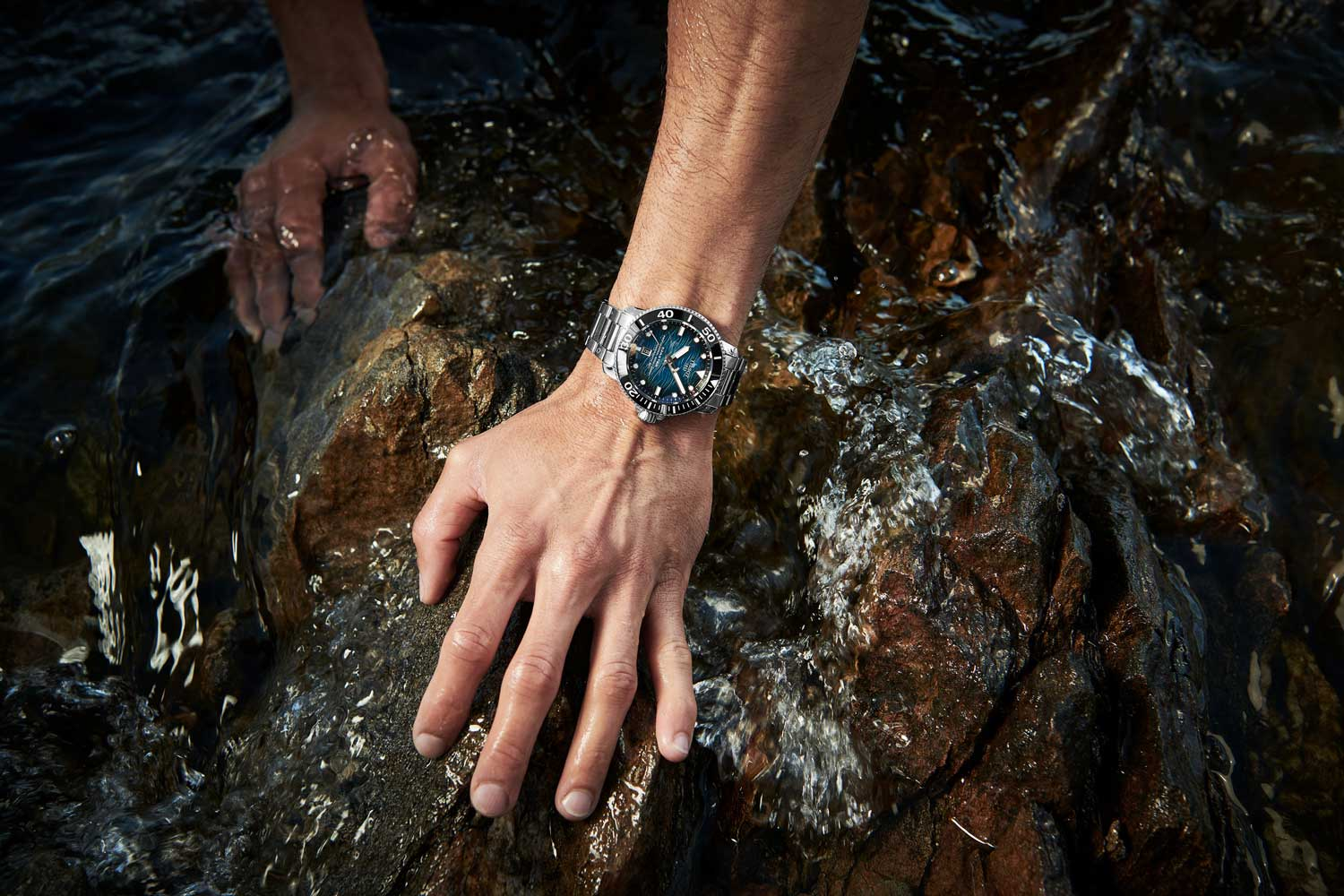 The Seastar 2000 Pro is a serious dive watch with an ISO 6425 certification.