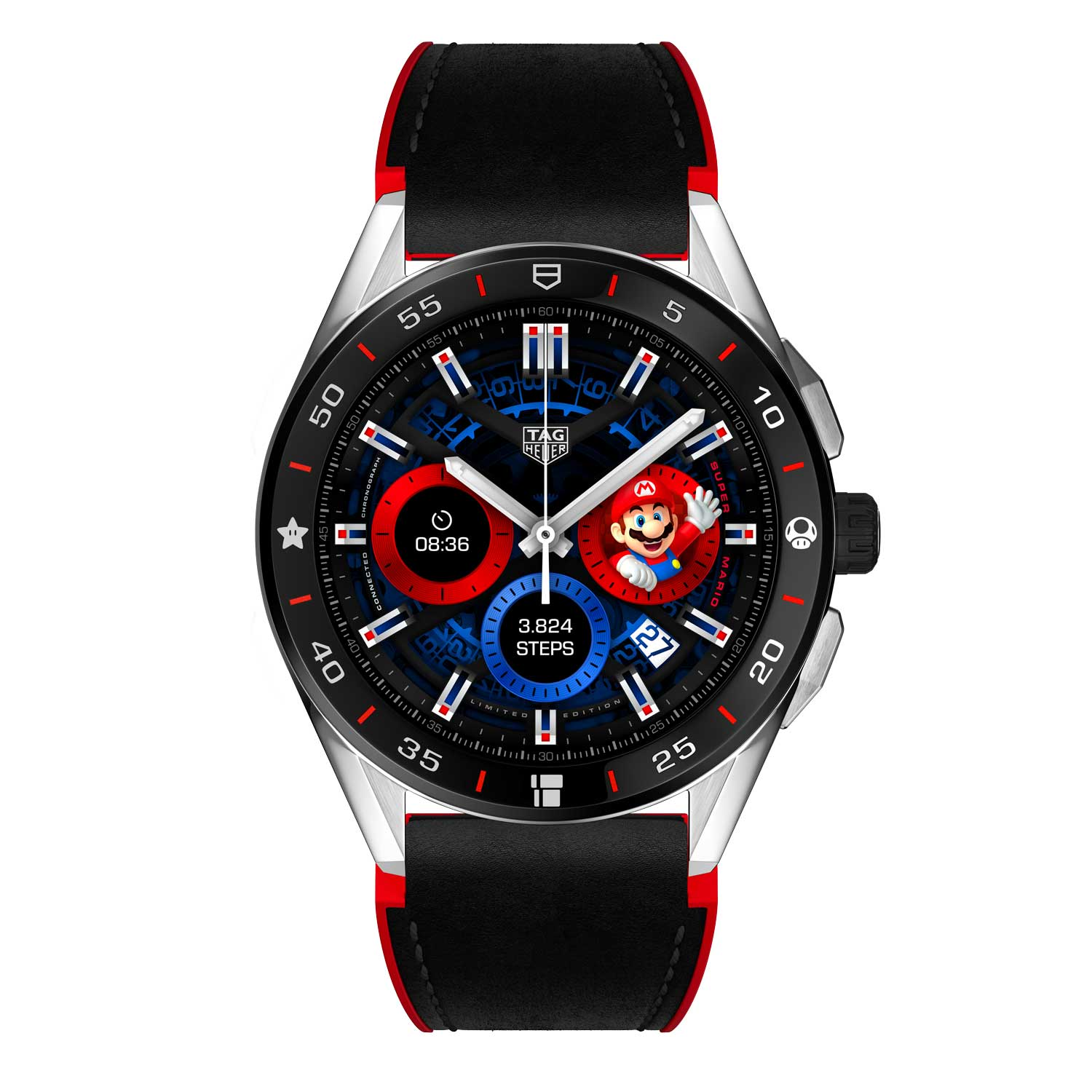 The TAG Heuer Connected x Super Mario Limited Edition