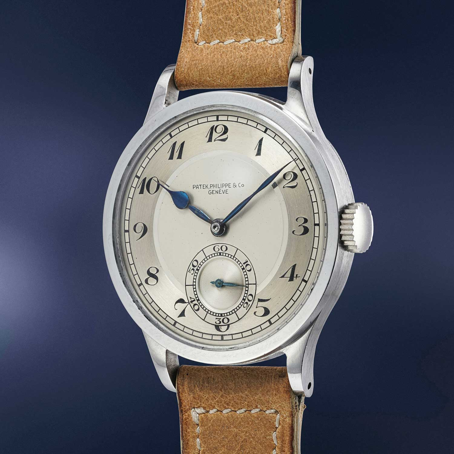 The Patek Philippe reference 570 in steel with Breguet numerals was recently sold by Phillips for CHF 3.3 million