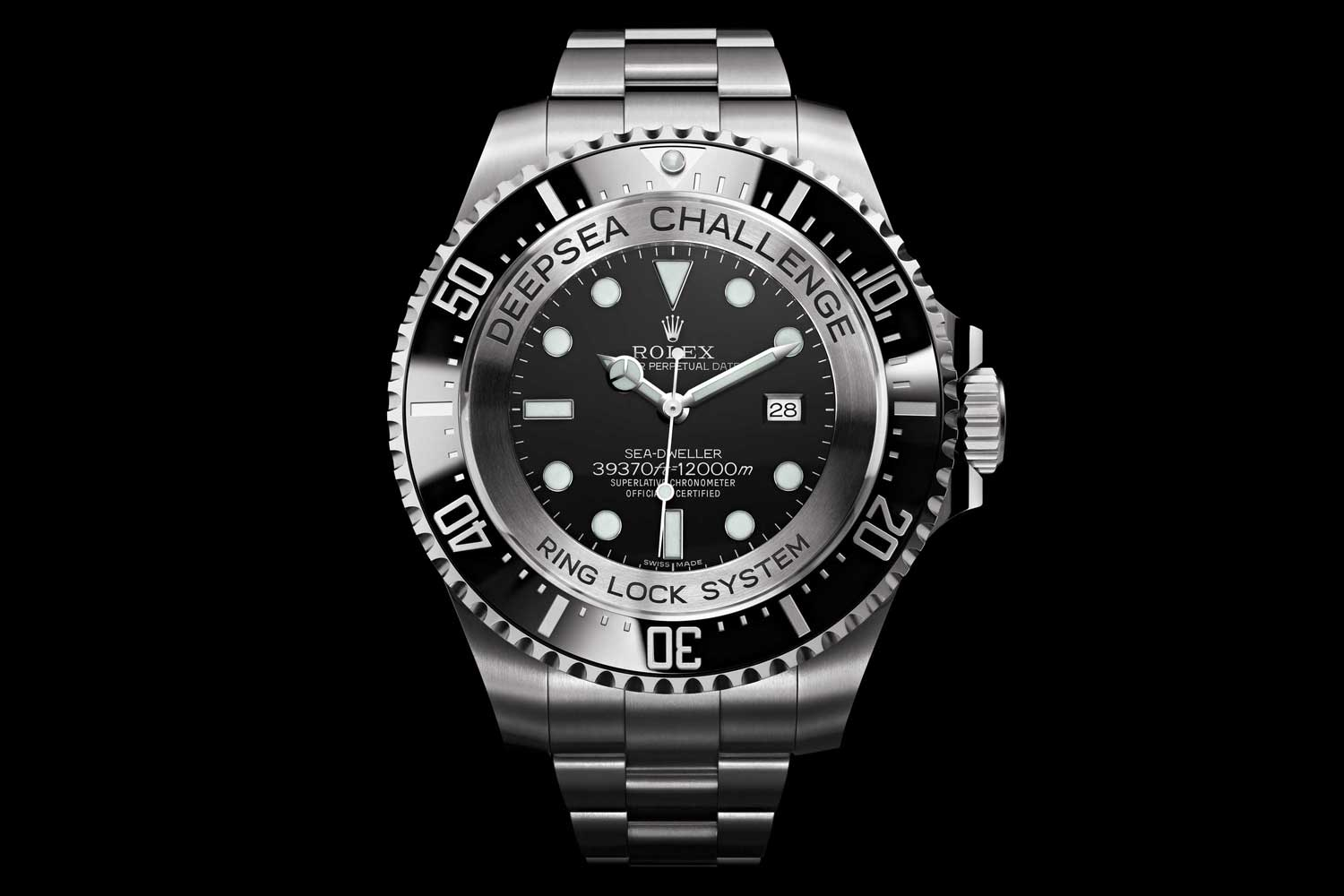 Rolex Deepsea Challenge from the 2012 expedition