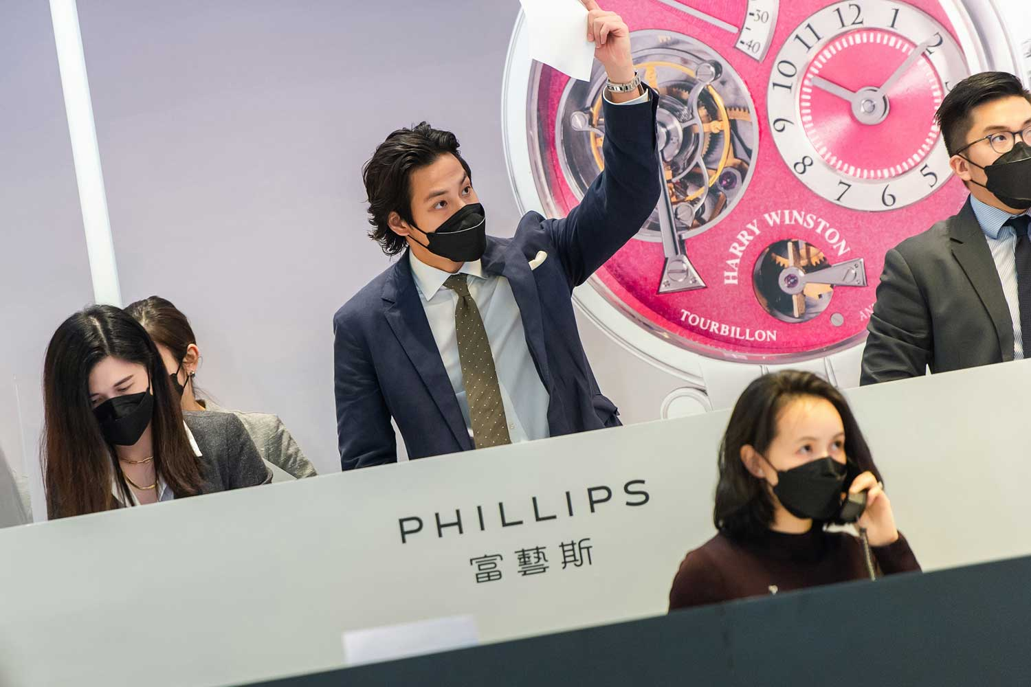 Phillips' Hong Kong Watch Auction XII reported a 30 percent increase in online participants as compared to the last season