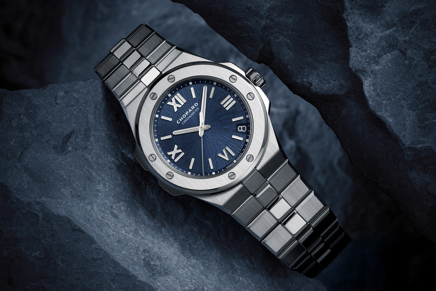 The Alpine Eagle presents the first instance in which recycled steel has been used in Swiss high watchmaking.