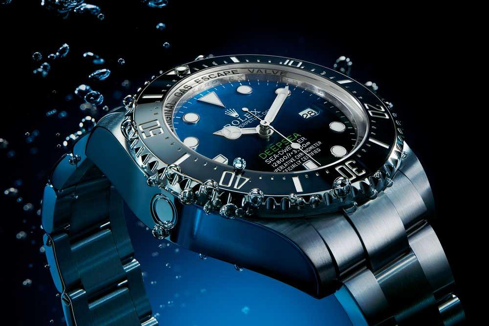 The Rolex Deepsea Ref 116660 D-Blue Dial.