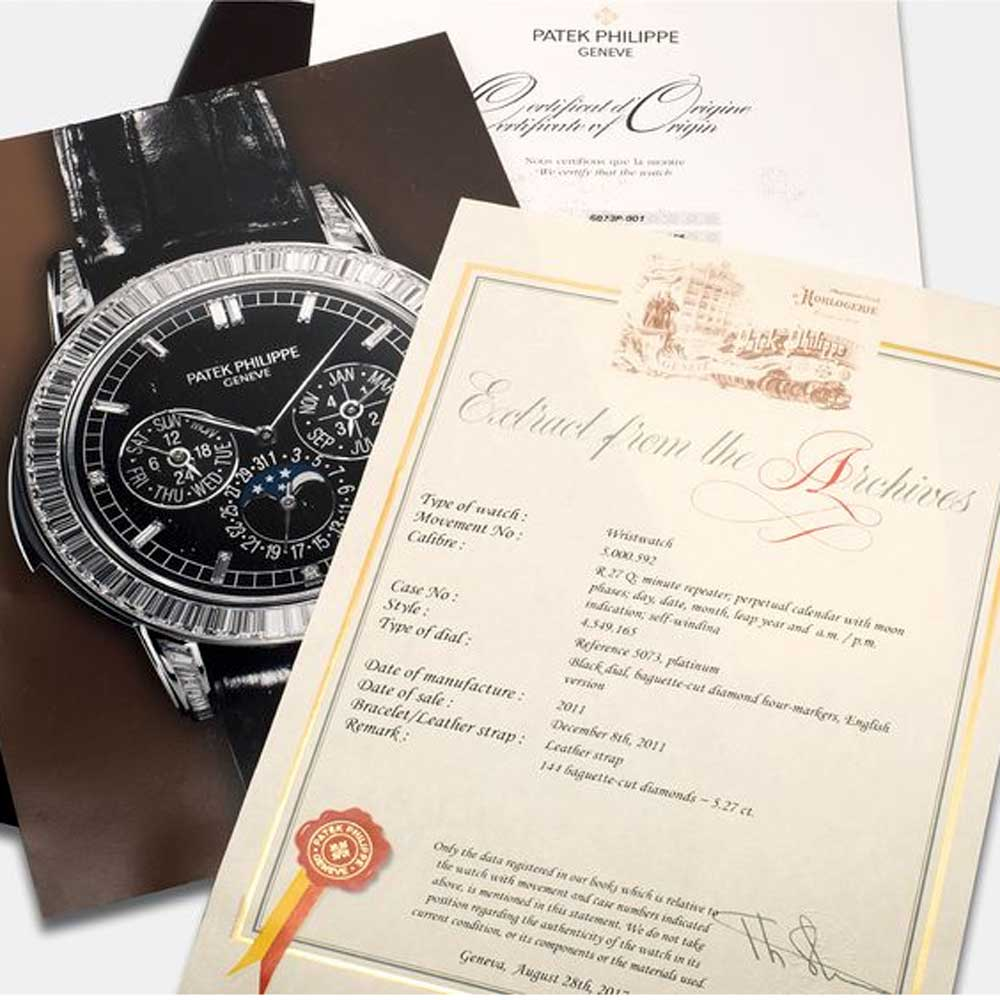 According to Philippe Stern, the decision to limit the number of extracts from the brand's archives was his way of protecting Patek Philippe collectors.
