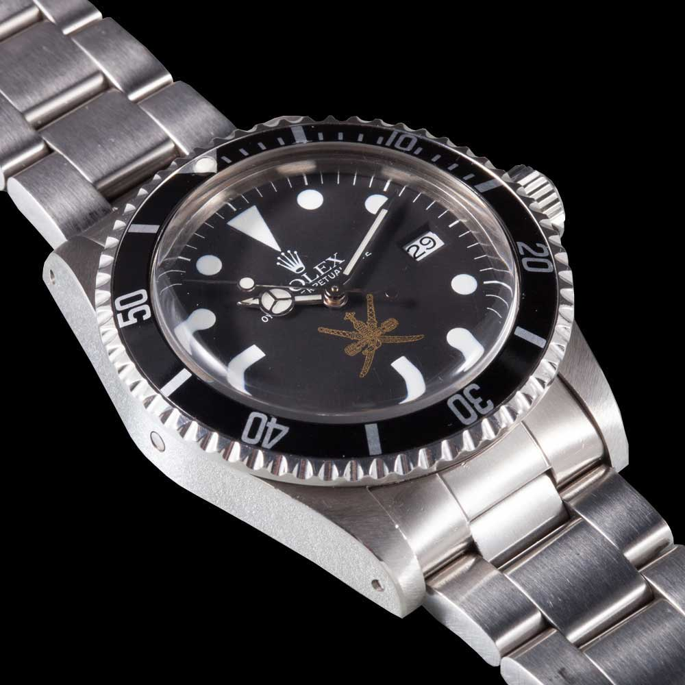 The Sea-Dweller Omani 1665 was made on commission from the Sultan of Oman, Qaboos bin Said