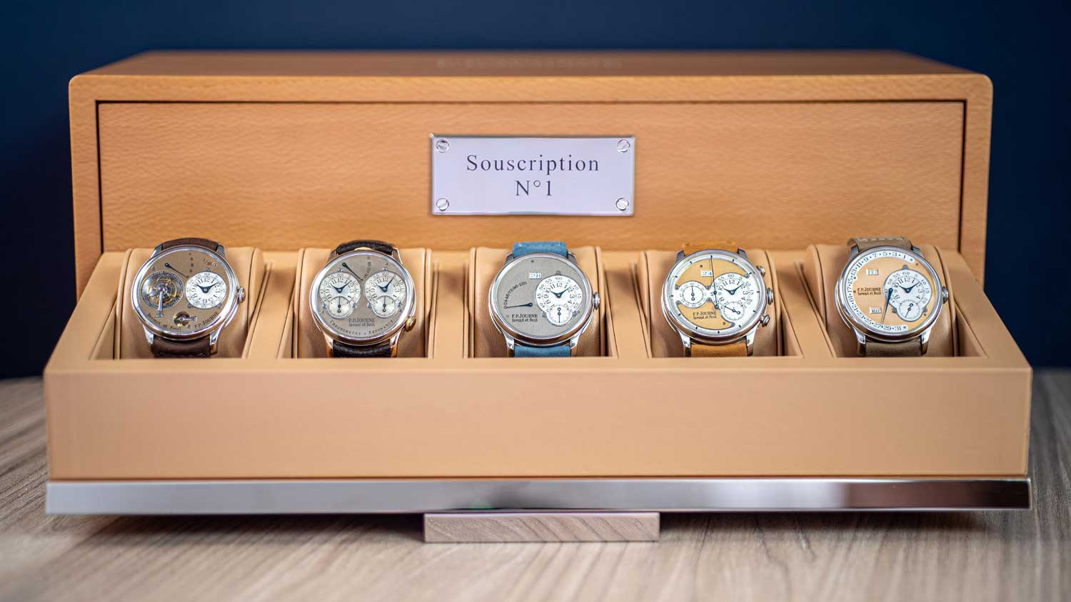 """A complete set of F.P. Journe """"Souscription"""" watches to be sold By Phillips in Geneva in November"""