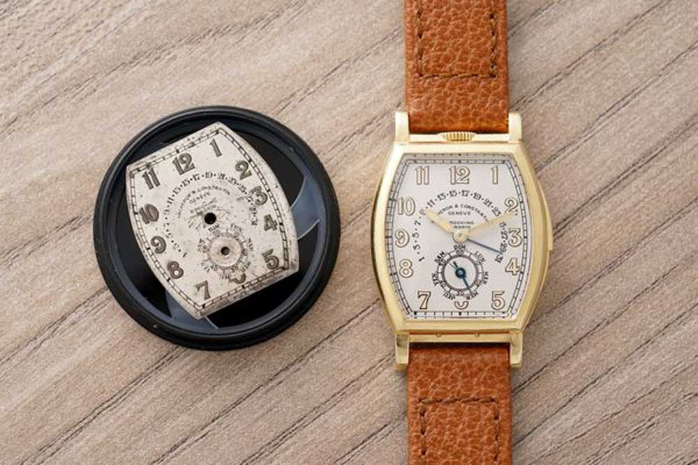 The unique 1930s Vacheron Constantin Minute Repeater with Retrograde Calendar was sold by Phillips for CHF 740,000 in 2019.