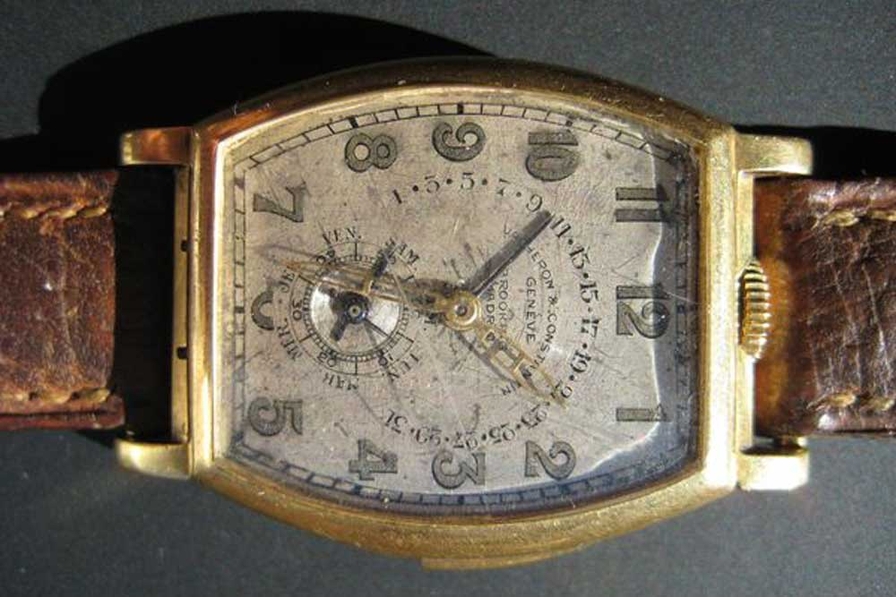 After the owner's passing in 1947, the watch remained in a safe for more than 60 years before it was rediscovered by his family and sold to Phillips.(Image: Phillips)