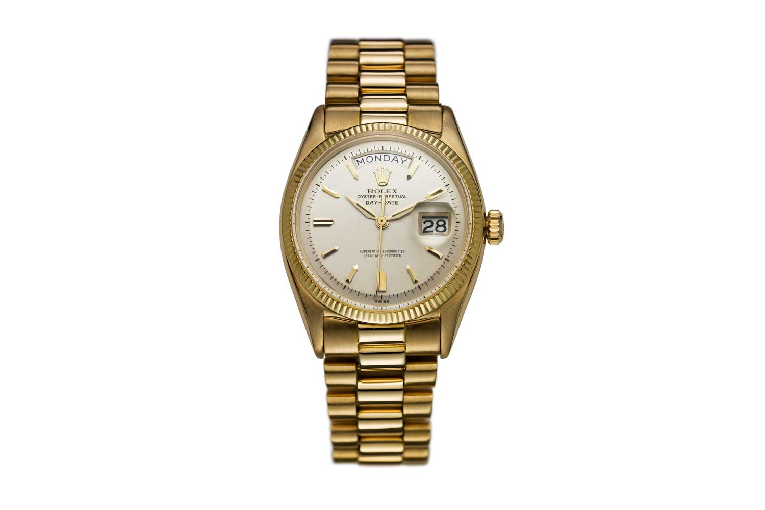 Rolex first unveiled the Day-Date in 1956