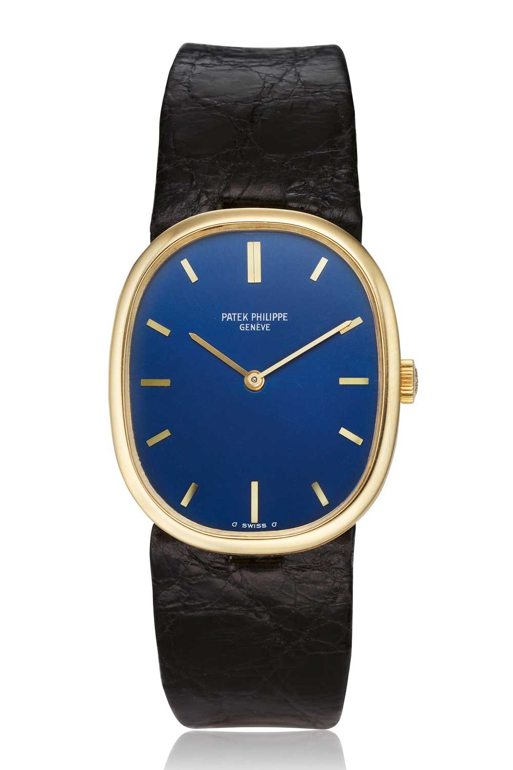 Even with its simple, elliptical shape, the Ellipse made a style statement that was one up over all the other gold watches in the market. (Image:Collectability)