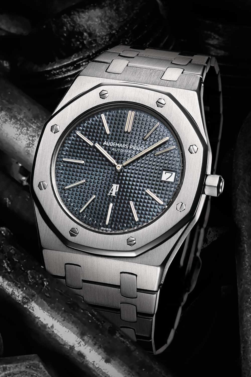 Gérald Genta ushered in the concept of a luxury sports watch in steel with the Audemars Piguet Royal Oak in 1972