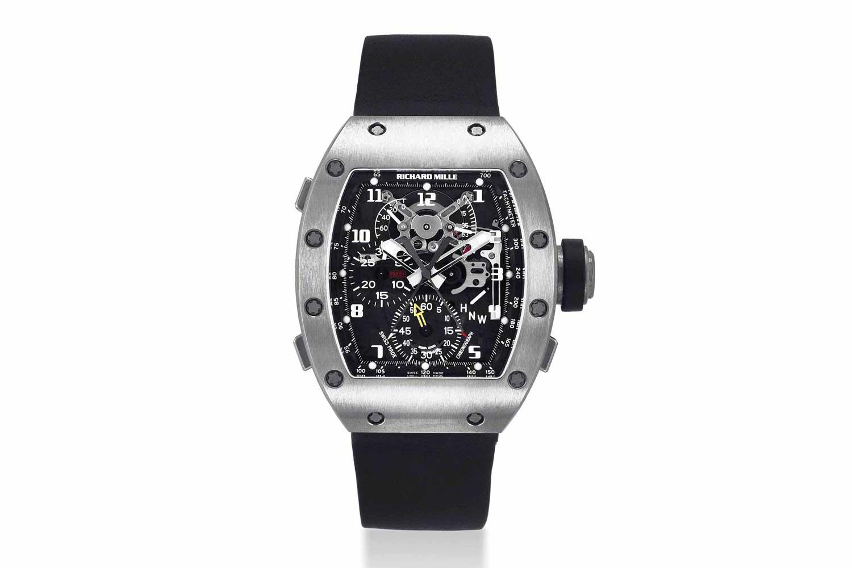2003 – The Richard Mille RM 004 Split Seconds Chronograph (Images: christies.com)