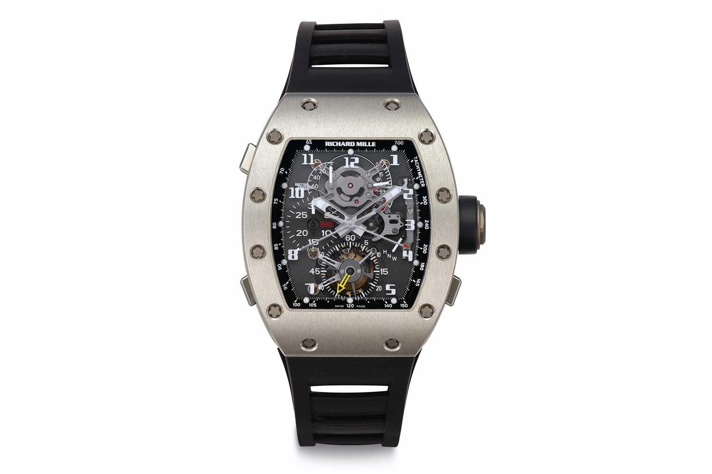 2005 – Richard Mille RM 008 Tourbillon Split Seconds Chronograph (Images: christies.com)