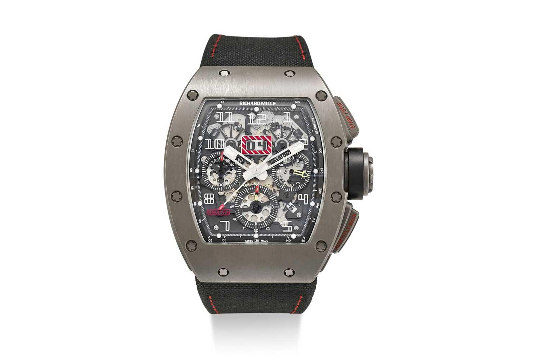 2007 – RM 011 Automatic Flyback Chronograph Felipe Massa (Image: sothebys.com)