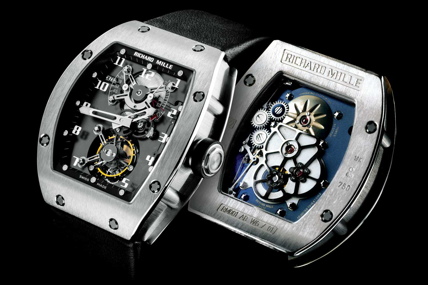 When introduced in 2001, the RM 001 presented a technical and aesthetic approach that was earth shattering in the watchmaking industry