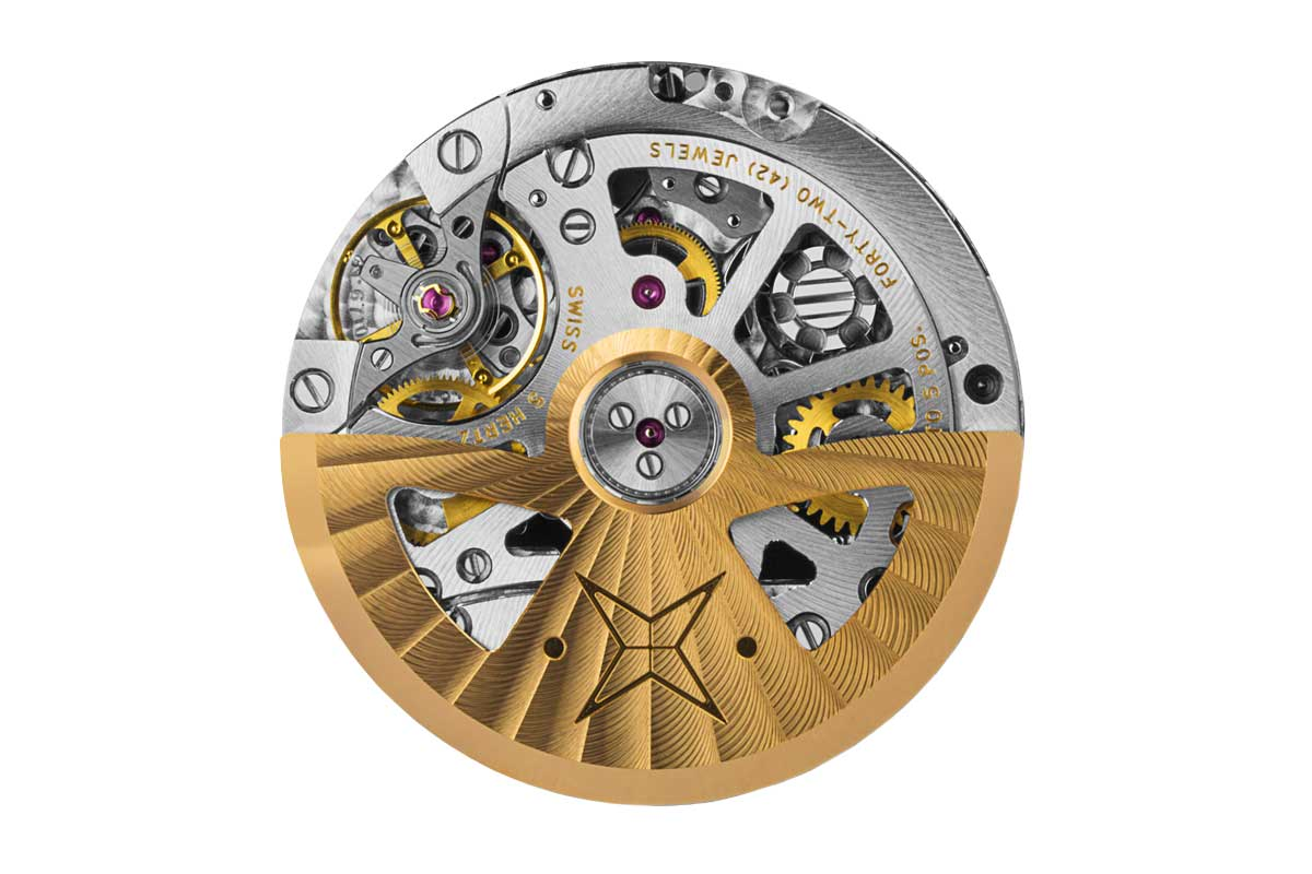 Vaucher's VMF 6710 is the only other automatic column wheel-activated chronograph movement that beats at 5Hz or 36,000 vibrations per hour (Image: vauchermanufacture.ch)