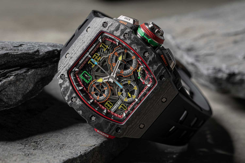 The RM 65-01 Split Seconds Chronograph Richard Mille's most complex automatic timepiece (©Revolution)