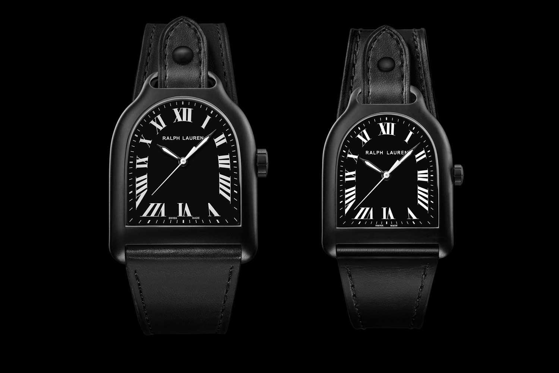 Đồng hồ Lớn và Trung bình, bằng thép không gỉ PVD màu đen, chạy trên bộ chuyển động cơ học do Sellita sản xuất với khả năng dự trữ năng lượng trong 42 giờ.