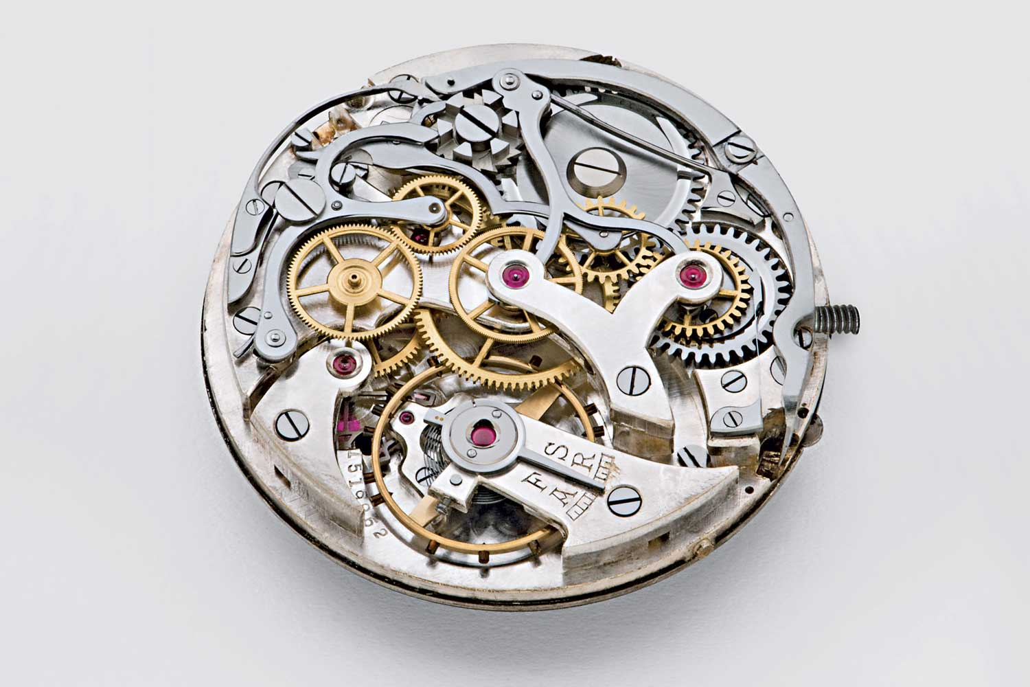 The original Minerva 17 ligne caliber on which the M16.29 is based.