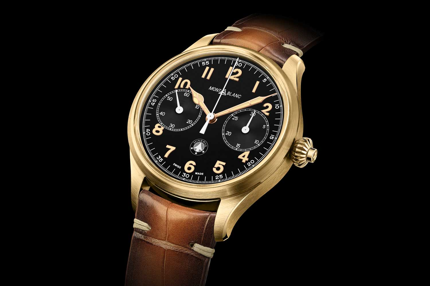 The Montblanc 1858 Monopusher Chronograph Origins Limited Edition 100