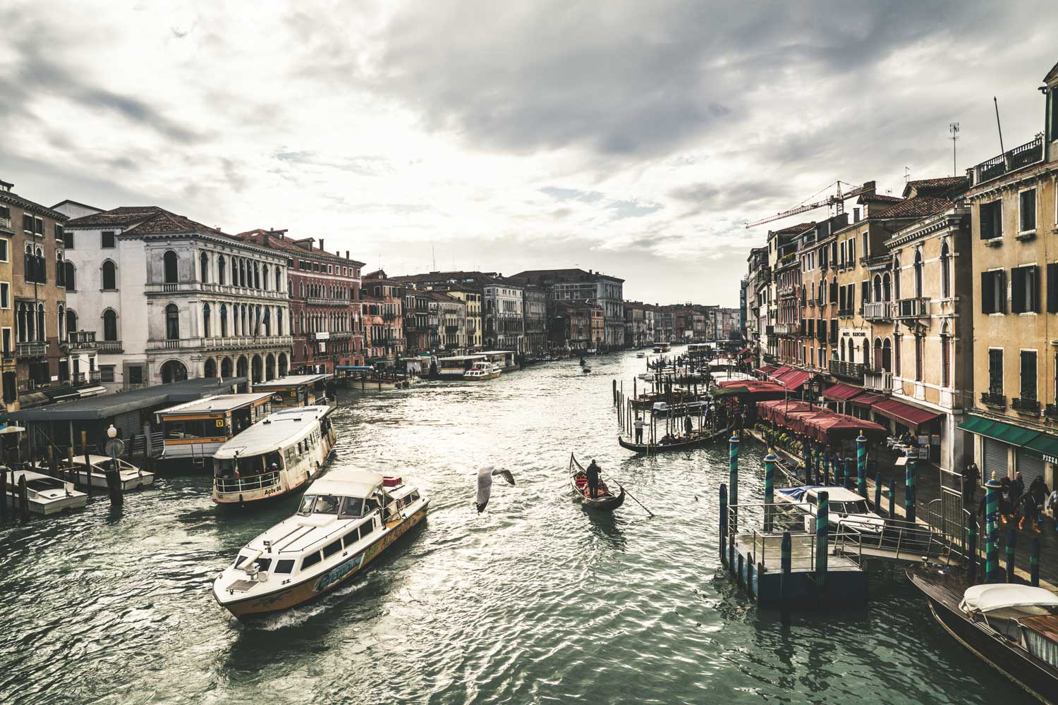 Venice in winter, solace away from home (©Revolution)