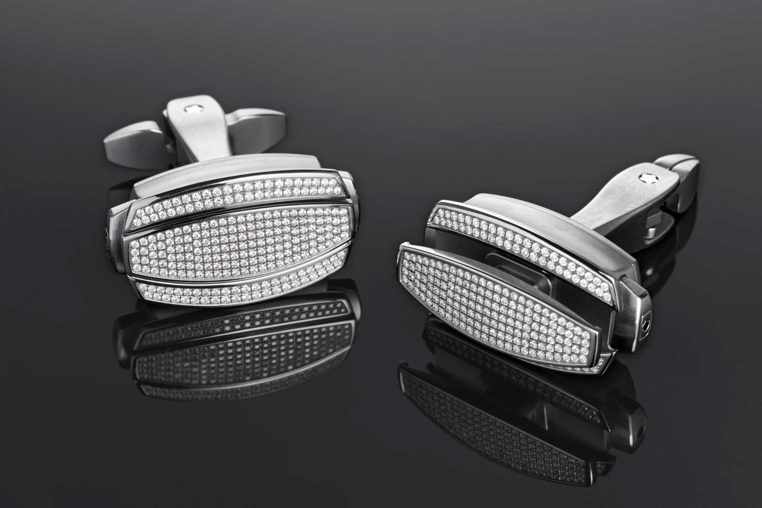 While the Richard Mille Cufflinks featured in this article are of the diamond decorated variety, the brand does as well produce these in straight-up grade 5 titanium (© Revolution)