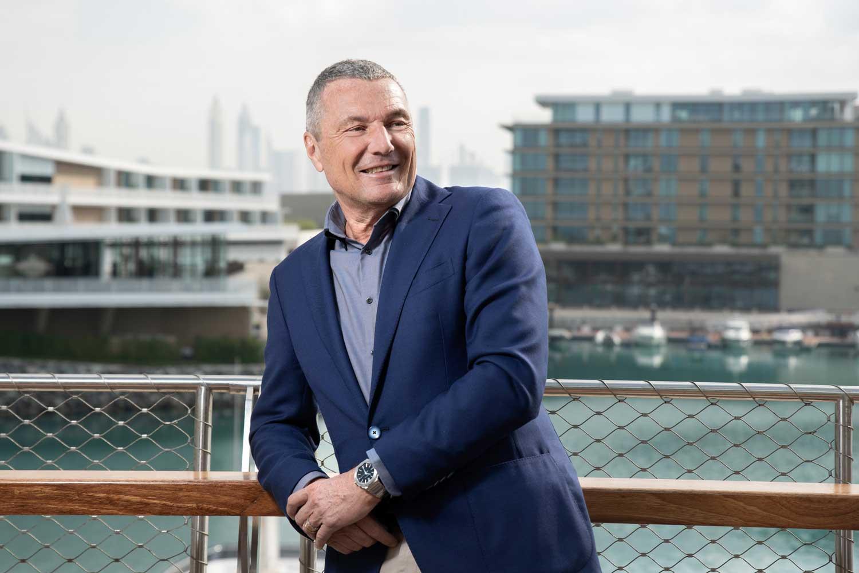 CEO of Bvlgari Group, Jean-Christophe Babin.