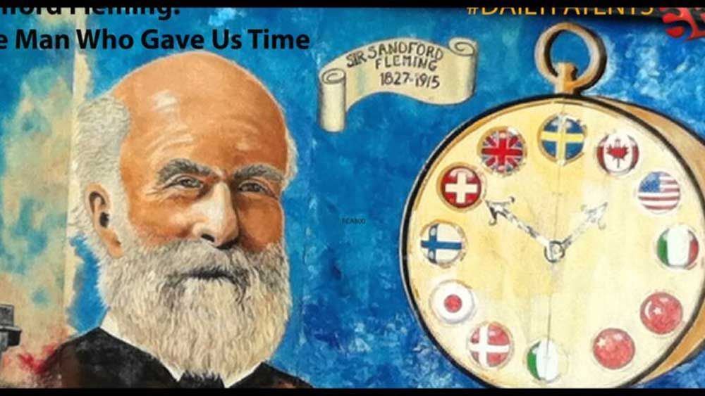 Sir Sandford Fleming proposed the concept of global standard time with the world divided into 24 zones in 1879