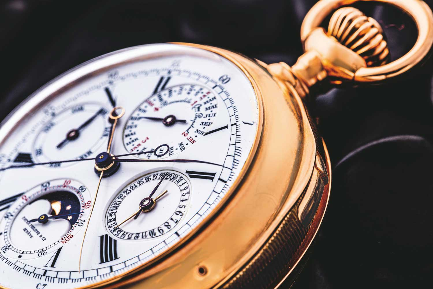 """The Unique Patek Philippe 'Gradowski' Grande Complication sold by Christie's at the """"The Legends of Time """" in May."""