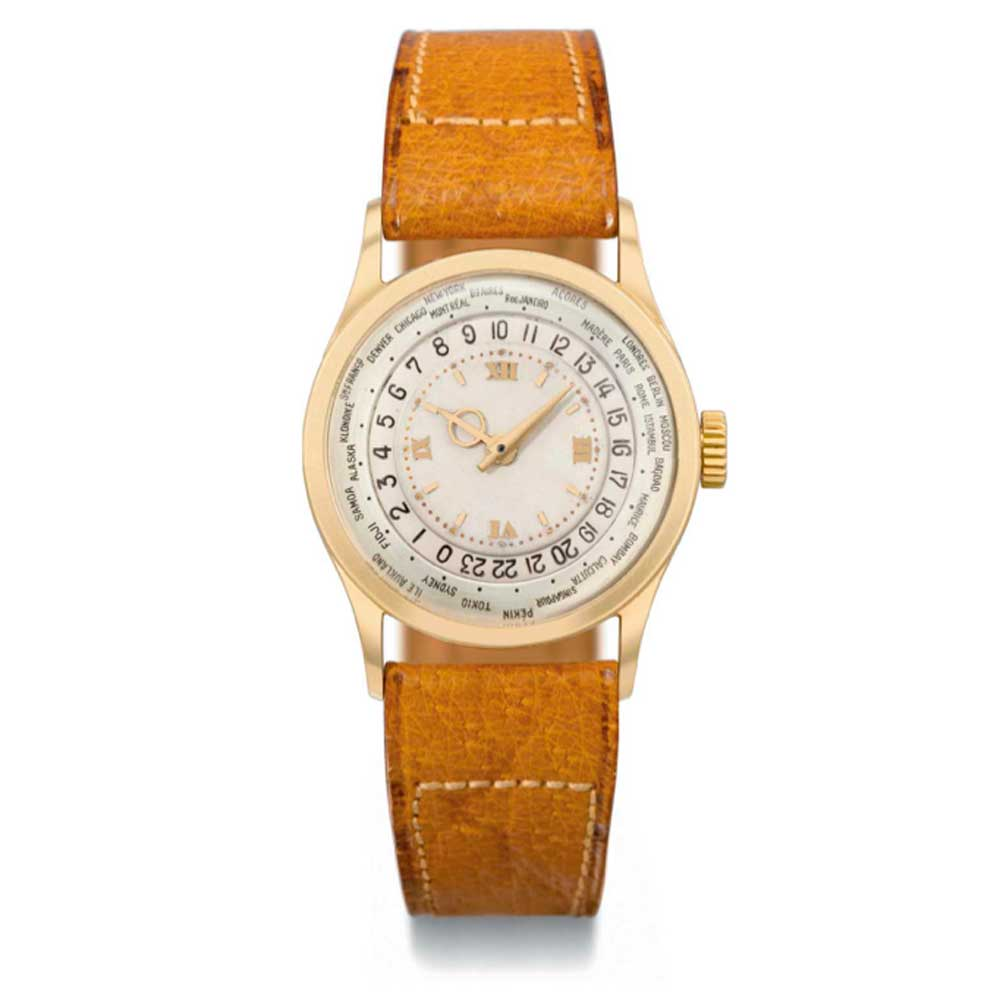 The ref. 96 HU signed Patek Philippe & Cie., Genève, was sold by Christie's in 2011 for CHF 411,000 (Image: Christie's)