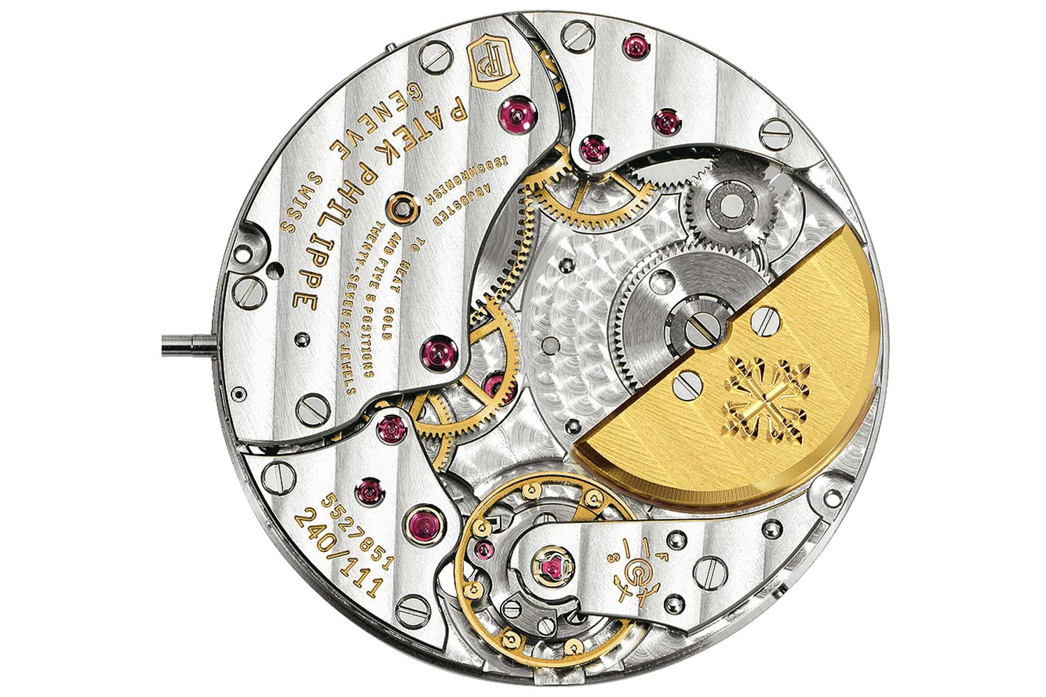 The mythical Patek Philippe caliber 240 launched in 1977