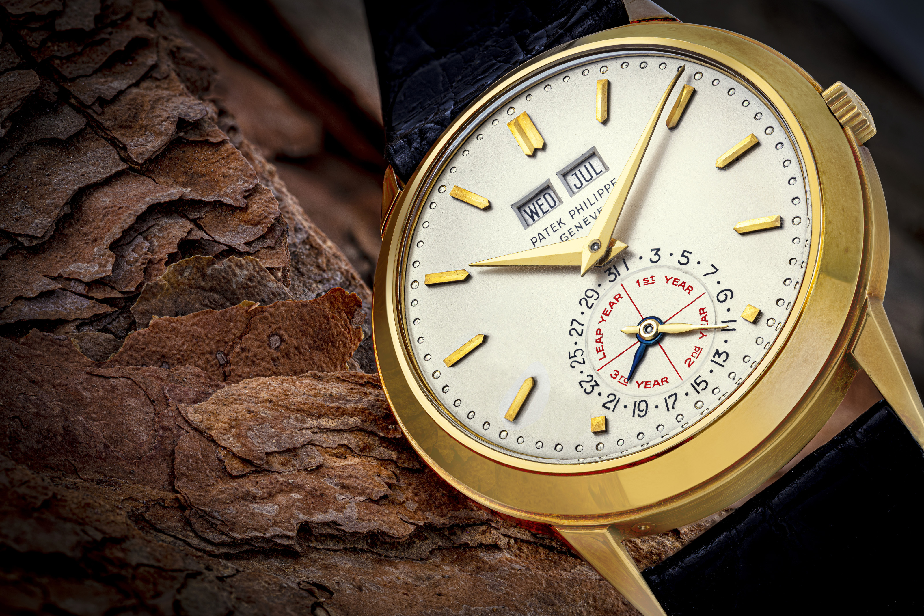 """The Patek Philippe ref. 3448 """"Alan Banbery"""" sold for a record CHF 3.36 million at Christie's Hong Kong auction in May."""