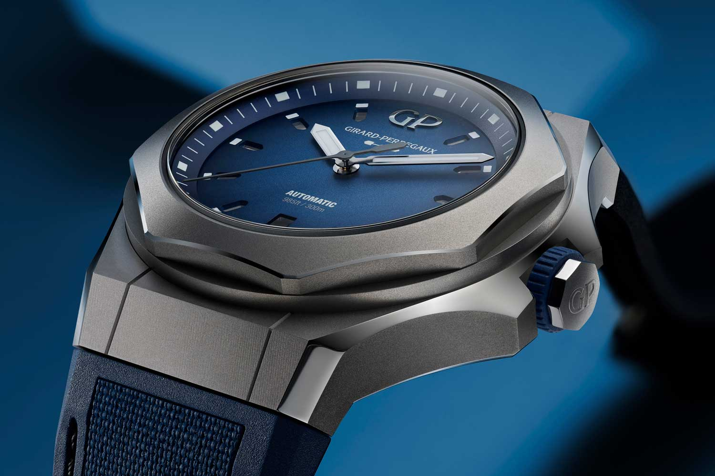 81070 21 002 FB6A AMB 03 - Giới thiệu đồng hồ Girard-Perregaux Laureato Absolute Ti 230