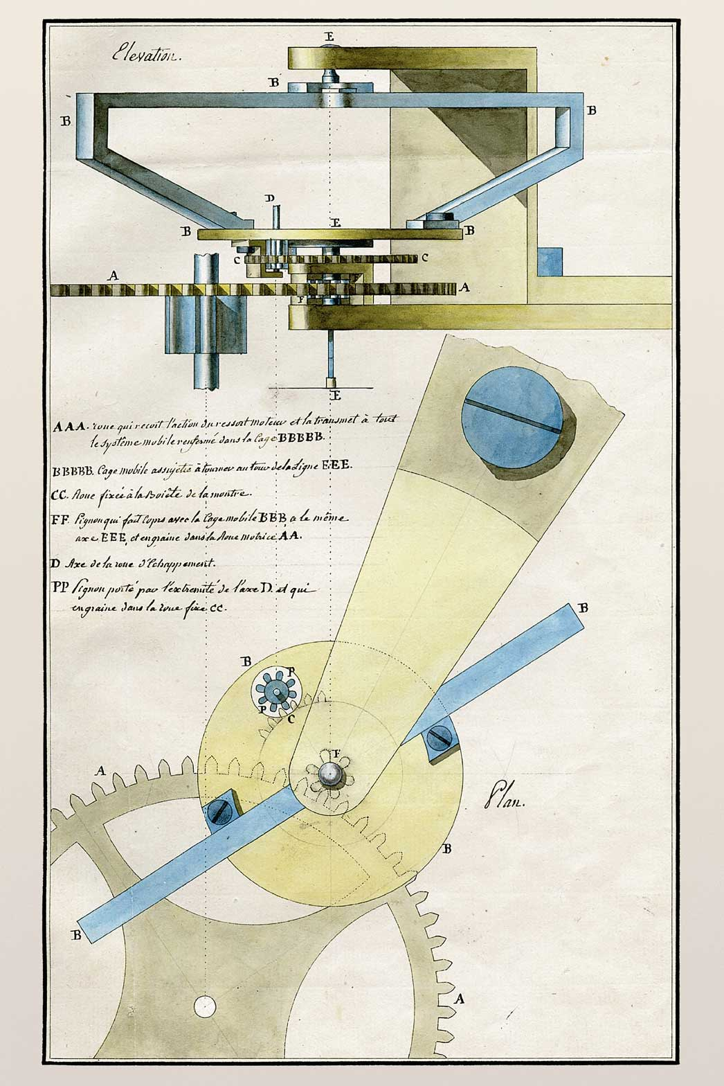 """On June 26, 1801, in France, Abraham-Louis Breguet earned the rights for a patent which would last for a ten year period for a new type of regulator called the """"Tourbillon"""" (Image: breguet.com)"""