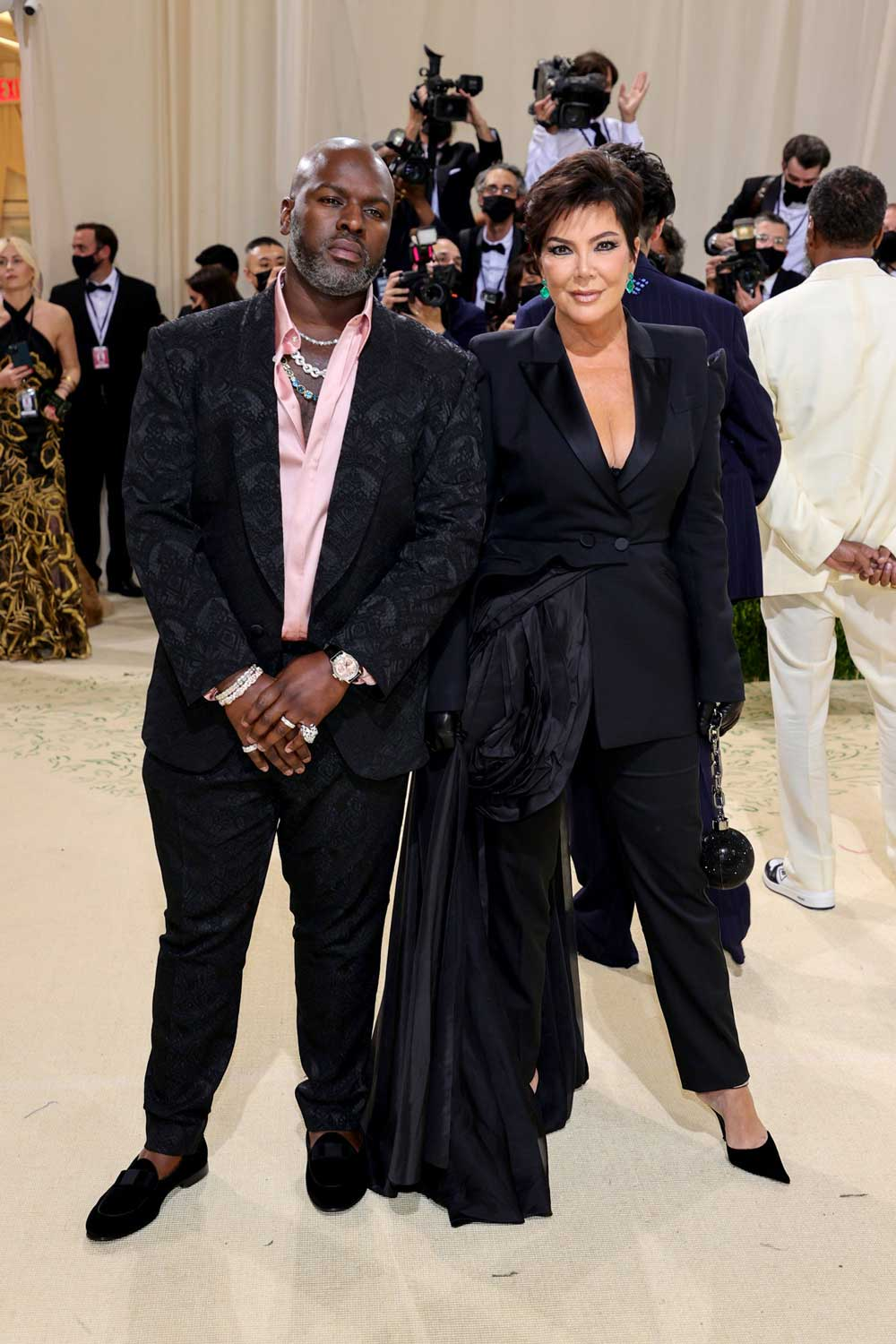 Corey Gamble got wristchecked by Nick Gould (better known as @niccoloy on IG), wearing a Patek Philippe 5208 perpetual calendar minute repeater, he is seen here with his partner, Kris Jenner