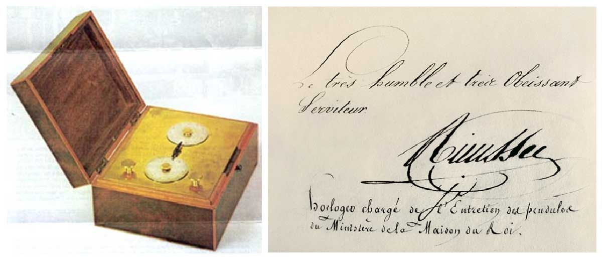 Nicolas Rieussec's chronograph from 1821